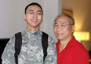 Ming Koh and son, Doug