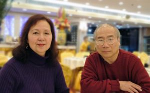 Ming Koh and wife, Camilla